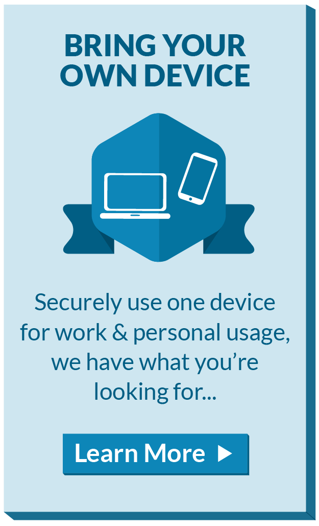 Use One Device for Work and Personal Usage