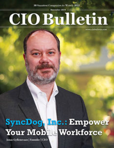 Jonas Gyllvensan on CIO Bulletin cover