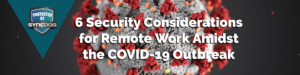 COVID-19 SyncDog Mobile Security Blog Banner